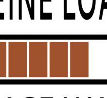 Caffeine Loading Please Wait Sticker