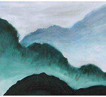 Morning Mountains by Talia Felix