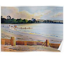 Dunsborough Beach at Sunset Poster