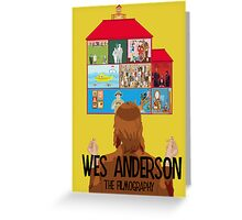 Wes Anderson: The Filmography Greeting Card