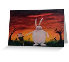 He's soooo Fluffy! Greeting Card