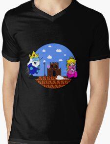 Wrong Princess Bro Mens V-Neck T-Shirt