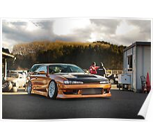 Technical Garage Sudou S14 Silvia Poster
