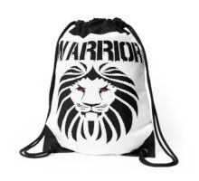 WARRIOR LION Drawstring Bag