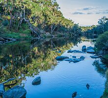 Blackwood River Rocks, Bridgetown, Western Australia by Elaine Teague