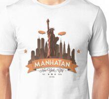 Manhatan Retro-style Design (Inspired by Fringe) Unisex T-Shirt