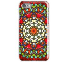 Stained glass Mandala iPhone Case/Skin
