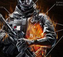 Onward Christian Soldier Sticker