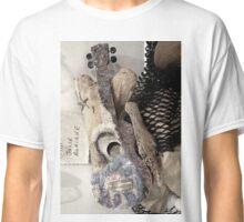 Uke Art Seascape Sculpture Classic T-Shirt
