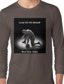 Lead For His Name Sake Long Sleeve T-Shirt