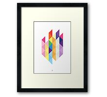 My Little Pony - Mane Six Abstraction I Framed Print
