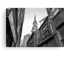 St Giles-in-the-Fields, the Poets' Church Canvas Print
