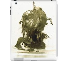 Negative liquid shape iPad Case/Skin