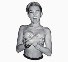 Miley Cyrus by downandout