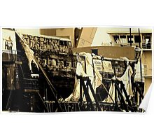 CITY OF ADELAIDE-SEPIA-PORT ADELAIDE Poster