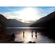 Glendalough Upper Lake Photographic Print