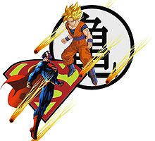 Goku Vs. Superman by Jmack107