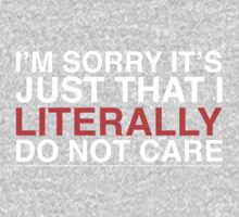 I don't care! Kids Clothes