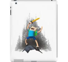 Adventure Time - Finn the Adventurer iPad Case/Skin
