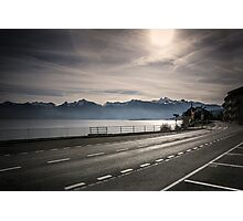 Road in the sunshine Photographic Print