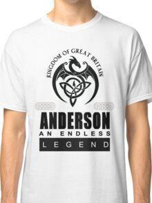 ANDERSON Celtic Dragon Tshirt Hoodies Art Design Classic T-Shirt