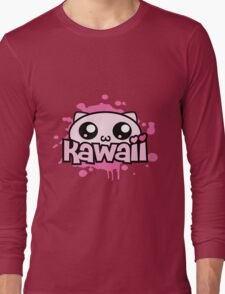 Cute Kawaii Splat Long Sleeve T-Shirt