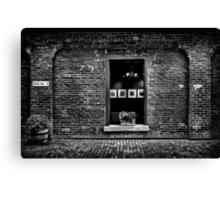 Toronto Distillery District Art Gallery Window Canvas Print