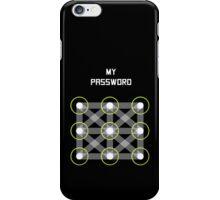Simple Password iPhone Case/Skin