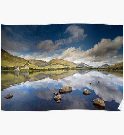 Scotland - Summer reflections, Kilchurn Castle Poster