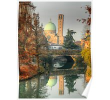 Double Autumnal Landscape from Padua Poster
