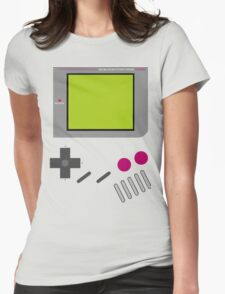 Gameboy Nintendo  Womens Fitted T-Shirt