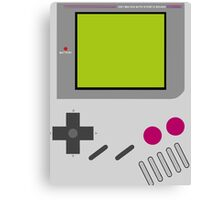 Gameboy Nintendo  Canvas Print