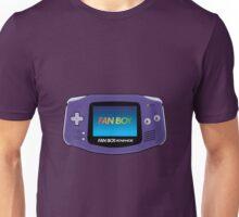 Fan Boy Advance GBA Retro Console Unisex T-Shirt