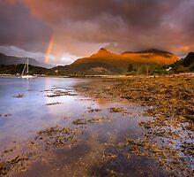 Scotland - Rainbow over Glencoe by Angie Latham