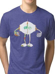 Boon - Multicolor - Robot Tri-blend T-Shirt