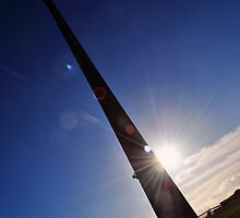 Emley Moor Mast by Care Johnson