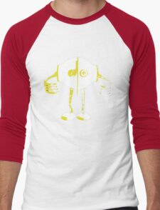 Boon Yellow Robot Men's Baseball ¾ T-Shirt
