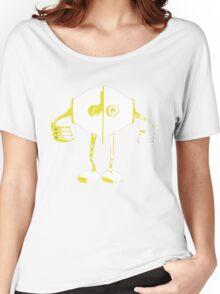 Boon Yellow Robot Women's Relaxed Fit T-Shirt