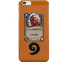 Attack on Titan Hearthstone iPhone Case/Skin
