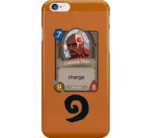 Attack on Titan Hearthstone iPhone Case/Skin