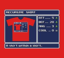 Recursive Shirt Equipped by vgjunk