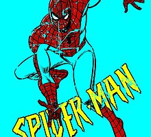 RETRO SPIDER-MAN by ethanpage