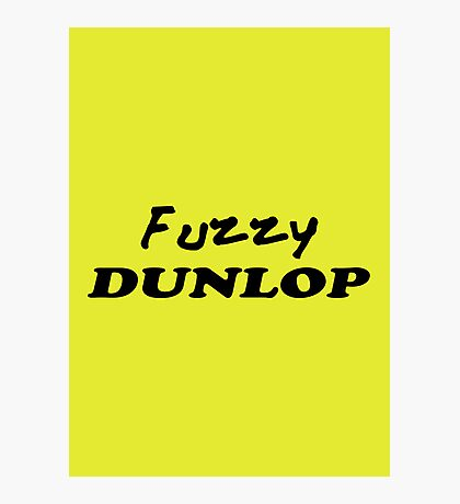 The Wire - Fuzzy Dunlop Photographic Print