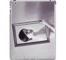 Naked girl in frame iPad Case/Skin