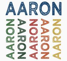 Aaron Cute Colorful Kids Tee