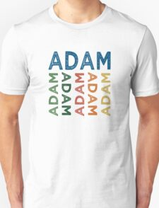 Adam Cute Colorful T-Shirt