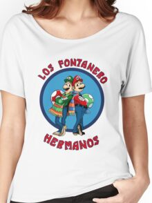LOS FONTANERO HERMANOS Women's Relaxed Fit T-Shirt