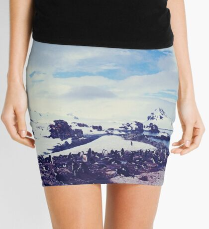 Half Moon Island Mini Skirt