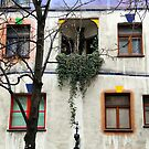 Windows of the Hundertwasserhaus by Igor Shrayer