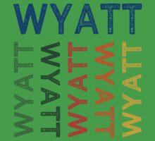 Wyatt Cute Colorful Baby Tee